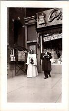Vintage Found Wedding Photo.     cc8