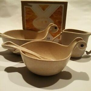 OOU wheat fiber childrens dinnerware set ultimate baby feeding set5pc dinosaur