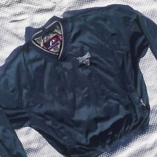 TENNESSEE TITANS NFL Mens XL Pullover Windbreaker Jacket Slicker Pro Player(H37)