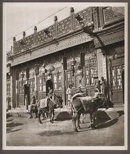1920's CHINA GRAVURE PAGEANT OF PEKING DONALD MENNIE - A PEKING SHOP