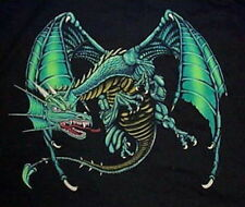 Standing Winged Green Dragon T-Shirt, New Size Xl