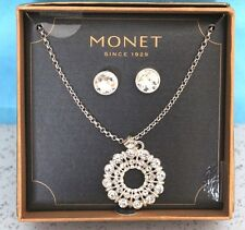 MONET NECKLACE WITH EARRINGS MSRP $ 24.00