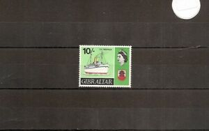 "Gibraltar 1967 SG212 1v of set NHM  ""Neuralia"" Liner- Launched 1912"