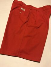 Polo Ralph Lauren Red Classic Chino Shorts Size 35