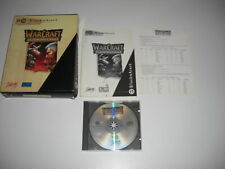 WARCRAFT 1 Orcs & and Humans Pc Cd Rom WAR CRAFT BM BIG BOX - Fast Post