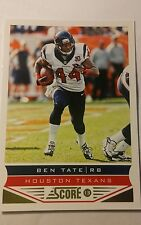 NFL Trading Card Ben Tate Houston Texans Score 2013 Panini