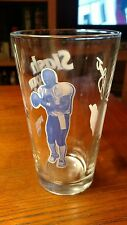 Pittsburgh Steelers Heavy Kordell Stewart Pepsi Bar Glass Western PA Limited