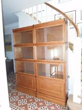 BOKNÄS Vitrinenschrankpaar Bücherschrankpaar Vitrine  Regal Lawyers Bookcase neu
