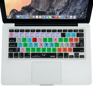 XSKN for Apple Logic Pro X 10 Shortcut Design Silicone Keyboard Skin Cover for &