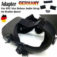 1 PC Praktischer Adapter für das HTC Vive Deluxe Audio Strap on Oculus Quest DHL