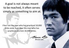 Cartel de Bruce Lee #57 - el mejor cotizaciones de motivación-A3 - 420mm X 297mm