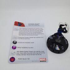 Heroclix Amazing Spider-Man set Spider-Man #001c Common figure w/card!