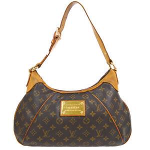LOUIS VUITTON THAMES GM HOBO HAND BAG AR1069 PURSE MONOGRAM CANVAS M56383 72172