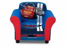 Delta Children Upholstered Chair Disney/Pixar Cars Wood Frame Bedroom Furniture