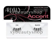 2 Pairs Ardell Natural Accent 318 Fashion Lash Fake Eyelashes Black