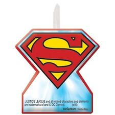 Justice League Birthday Party Cake Candles Superman Batman Superhero 71585