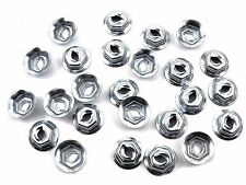 "Mazda Emblem & Trim PAL Nuts- Fits 5/32"" Studs- 11/32"" Hex- 25 nuts- #086"