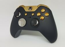 Customised Official Xbox One Elite Controller - Gold Edition - Custom / Modded
