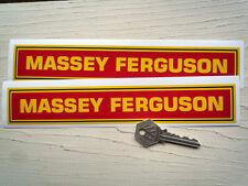 """Tracteur MASSEY FERGUSON stickers 9 """"paire exploitation agricole d'élevage rétro classique"""