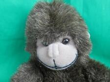 Shaggy Brown Taupe Russ Berrie Gonzo Monkey Baby Gorilla Plush Stuffed Animal