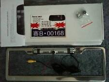 BRAND NEW! CHINESE LICENSE PLATE REARVIEW VIDEO CAMERA