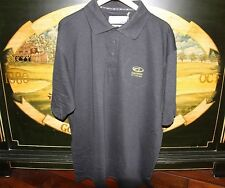 Mens XXL Black Golf Polo Shirt DryTec Cutter & Buck ALLIANCE BATTERIES