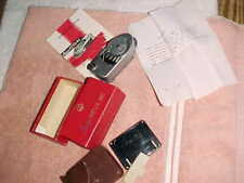 LEICA MC LIGHT METER  -  COMPLETE with BOX  INSTRUCTIONS and NOTE FROM LEICA