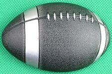 "Belt Buckle ""FOOTY BALL"" 3.8cm Wide Belt, Custom Made, DIY, Metal Casting."