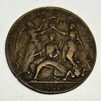 M1 Habsburg RDR Bronze Spottmedaille Krönung Maria Theresia 1743 Dm43mm 14g rar