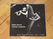 BRIGITTE BUXTORF flute CATHERINE EISENHOFFER harp VINCI SPOHR NADERMANN SWISS LP