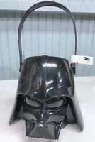 Star Wars Darth Vader Black Plastic Halloween Trick Or Treat Bucket