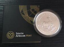2017 Sud Africa 50th Anniversario in Argento 1oz Coin W/Coa