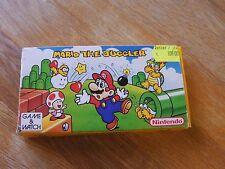 "Lcd game Nintendo "" Mario the Juggler "" game watch"