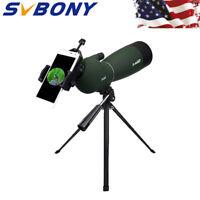 SVBONY SV28 25-75x70mm Spotting Scopes Angled Zoom IP65 MC+Tripod+Adapter USship
