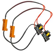 H11 LED Bulbs Load Resistor Decoder Canceller CanBus Headlight DRL Fog Light 50W