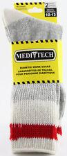 Mens Comfort Wool Work Diabetic Meditech Socks (2 Pairs)