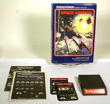 Intellivision boxed game Space Armada cib