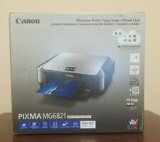 Brand New Canon PIXMA MG6821 All-in-One Inkjet Color Printer Sealed Box
