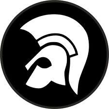 TROJAN RECORDS neg set of 2 STICKERS  CAR WINDOW BUMPER SCOOTER STICKER DECAL