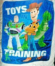 TOYs STORY Northwest Fleece Throw Blanket 50x60 In Training Buzz Lightyear Woody