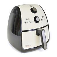 Lloytron E6702 Kitchen Perfected 1500w 4.0Ltr Air Fryer XXL Ivory White - New