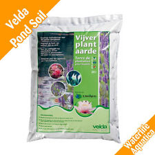 VELDA - PREMIUM Pond Soil - Aquatic Compost (20 LTRS) for Plants & Baskets