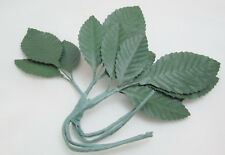 "Fibre Craft 3"" Cloth  Rose Tiege Leaves Leaves  / Leaf - Package of 4"