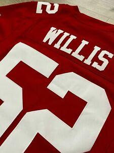 Men's Nike NFL Patrick Willis San Francisco 49ers Authentic Stitched Jersey XL