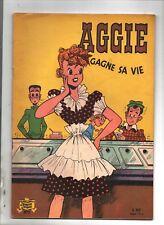 AGGIE gagne sa vie. Album Aggie n°2. SPE vers 1960. Prix d'origine 1 NF