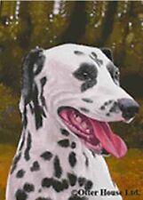 Outdoor Flag Dalmatian Dog Breed Outdoor Garden Flag 12 x 17.Clearance Priced
