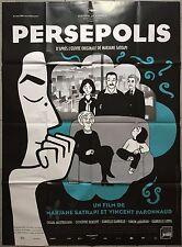 Affiche PERSEPOLIS Vincent Paronnaud MARJANE SATRAPI Iran 120x160cm *