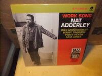 Nat Adderley Work Song Sealed New Vinyl LP Jazz Reissue