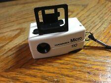 Vintage Hanimex Micro 110 Camera New In Box * Vivitar Holga Lomo Keychain
