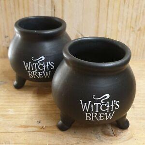 Mini Witches Brew Cauldrons  - Free P&P